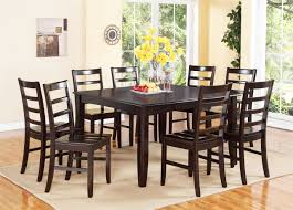 Large Dining Tables To Seat 10 Solid Wood Contemporary Dining Room Chairs And Table