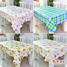 plastic table cloth supply whole plastic tablecloth waterproof oil coffee table cloth corrugated side table cover cloth brown tablecloth white round
