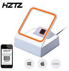 HZTZ otomatik QR barkod tarayıcı 1D/2D barkod okuyucu mobil ödeme için barkod  okuyucu desteği Windows Linux|Scanners