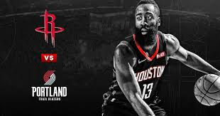 Houston Rockets Vs Portland Trailblazers Houston Toyota