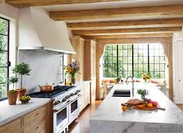 awesome brown rectangle rustic wooden house beautiful kitchen designs varnished ideas