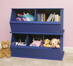 toy storage furniture. Badger Basket Toy Storage Amazon.com : Three Bin Cubby, Blue Furniture