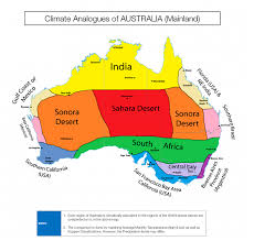 World Climate Zone Chart Colourful Climate Comparison Maps Show The Surprising