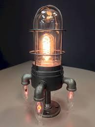 Diy Industrial Desk Lamp