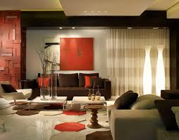 Brown And Red Living Room Ideas Simple Design Ideas
