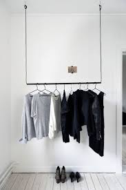 ... Wardrobe Racks, Hanging Clothing Rack Clothing Rack Target Black Wire  Tied On Ceiling Hooks Thin