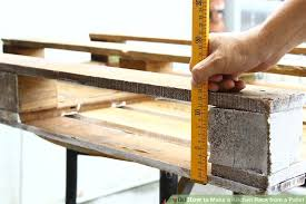 image titled make diy pallet rack for kitchen step 5