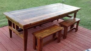 diy outdoor farmhouse table. DIY Farmhouse Table Diy Outdoor D