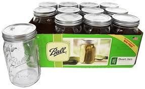ball 9 count 24 ounce wide mouth jars with lids and bands. ball - wide mouth 32 oz. quart mason jars 12 count 9 24 ounce with lids and bands