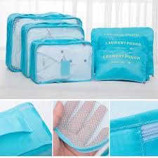 Breathable Packing Cubes Luggage Organizer (set of 6) – intozam