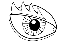 Small Picture Coloring page eye img 22719