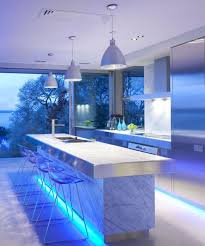kitchen features three white cone shape pendant lamps and puck smlfimage source