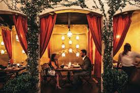 Stunning apartment valentines decorations ideas Living Room Firefly Studio City Quiltpuzzelcom Most Romantic Restaurants In Los Angeles For La Date Night Thrillist