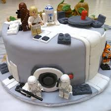 Star Wars Lego Decorations Star Wars Birthday Cakes Star Wars Cakes Decoration Ideas