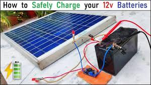 Run <b>12v</b> 500W DC Motor & Charge <b>12v</b> Battery with <b>40W Solar</b> ...