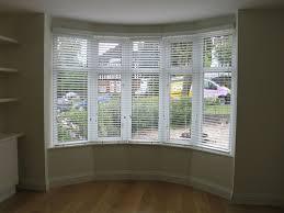 50mm White Woodslats In Bay Window  Decor Projects  Pinterest Bay Window Vertical Blinds