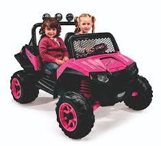 peg perego polaris ranger rzr 900 12 volt battery powered ride on pink