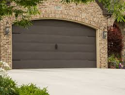brown garage doors with windows. Flush Panel (No Rib) / Sandcast Bronze With Antique Hardware Brown Garage Doors Windows D