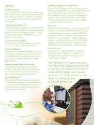 Ge Remote Access Features Ge Healthcare Carescape Gateway User Manual Page 3 4