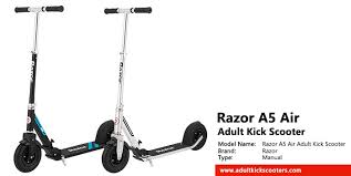 Razor A5 Air Scooter Review Adultkickscooters Com