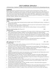 Endearing Proprietary Trader Resume Also Proprietary Trading Resume ...