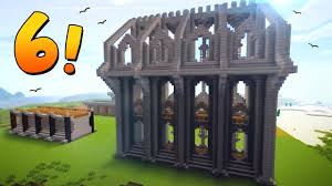 Minecraft Castle Designs 6 Epic Wall Designs Ideas For Castles Towns Minecraft