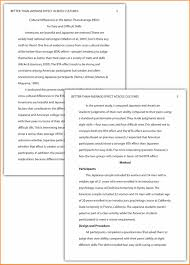 examples of apa style papers resume reference 11 examples of apa style papers