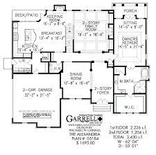 two story house plans with master on second floor two story house plans with master on