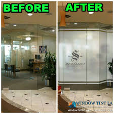Beautiful Window Graphics for Dental Office. Window Graphics out Of Frost,  this enhances the