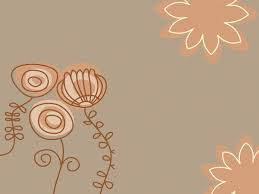 Brown Powerpoint Background Brown Flowers Powerpoint Templates Brown Flowers Free Ppt