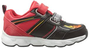 disney cars lightning mcqueen light up sneaker black red 7 m us toddler at low s in india in