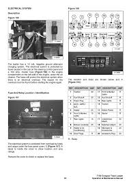 electrical system bobcat loader t190 user manual page 107 147