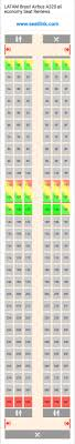 United Airlines Airbus 320 Seating Chart Latam Brasil Airbus A320 All Economy 320 Seat Map United