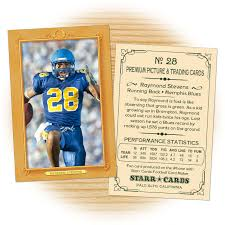 card maker template custom football cards vintage 11 series starr cards