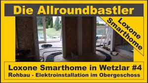 Gliederung entwicklung der technik im fussboden funktionen bauformen und kosten präsentation zum thema: Loxone Smarthome In Wetzlar 4 Rohbau Elektroinstallation Im Og Teil 1 Youtube