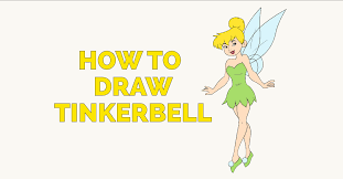 how to draw tinkerbell featured image
