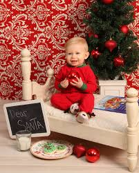 Christmas Picture Backdrop Ideas Christmas Portraits Waiting For Santa Toddler Portraits One