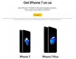 iphone deals atandt. sprint also offers free iphone 7 with trade-in, at\u0026t too! - gsmarena blog iphone deals atandt