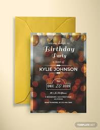 Party Invitaion Templates 63 Free Birthday Invitation Templates Download Ready Made