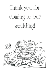 Wedding Coloring Book Pages Free Color Married Adult Amazing
