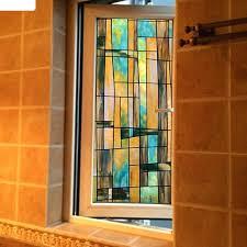 stained glass bathroom window window stickers stained glass sliding door stickers bathroom window opaque window stained glass bathroom window