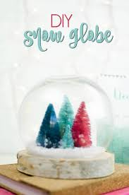 diy snow globe non traditional easy diy snow globe fake snow