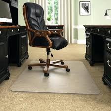thickest best ing opaque glass chair mat with lip