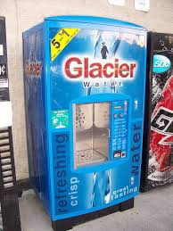 Glacier Vending Machine