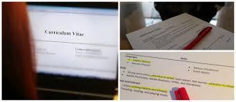 cv or application letter check