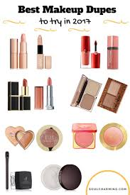 for more information please check out my site soulcharming see you there the best makeup dupes