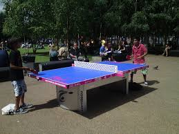 ping pong tables pinstripes signs graphics and clothing