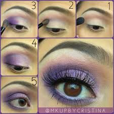 step by step purple eye makeup tutorial los angeles makeup artist
