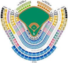Download La Dodgers Stadium Seating Chart Download Seat