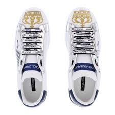 Dolce Gabbana Portofino Royal 10 Crown Wit Met Metallic Shoebaloo Nl